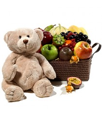 Fruit Basket with Teddy